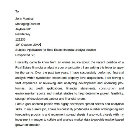finance analyst cover letter entry level 8 entry level cover letters sles exles formats