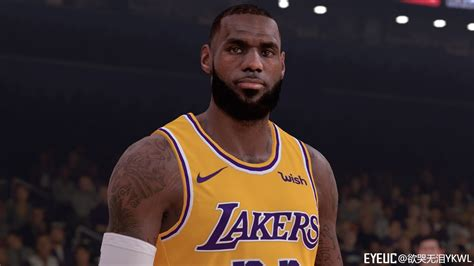 NBA 2K19 - LEBRON JAMES CYBERFACE V1.5 BY YKWL (EYEUC ...