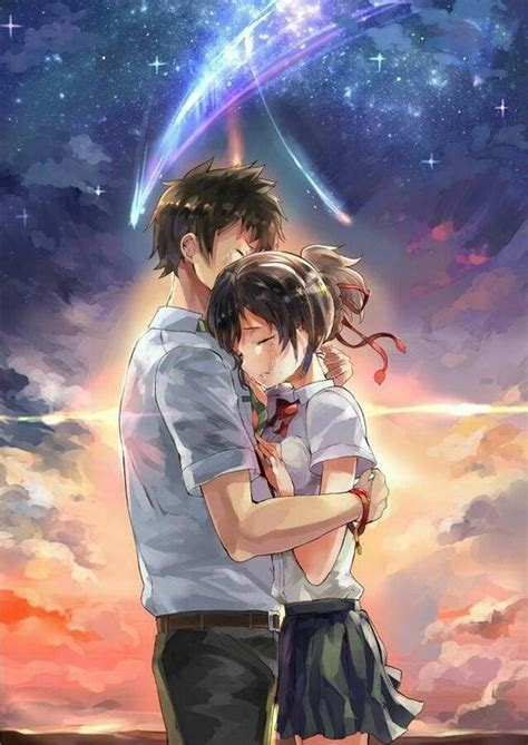 fantastis  gambar wallpaper anime couple terpisah
