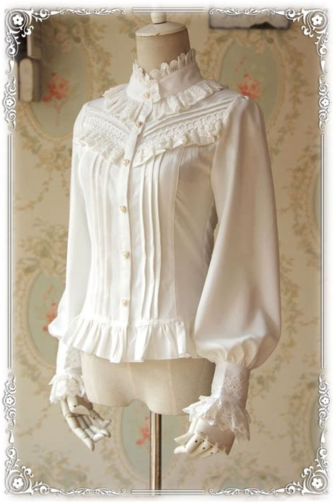 infanta strong fragrance thick chiffon lolita blouse