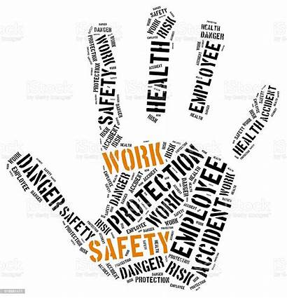 Safety Word Illustration Cloud Concept Abstract Care