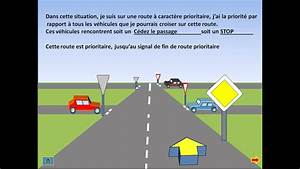 Intersection Code De La Route : cours de code route caract re prioritaire youtube ~ Medecine-chirurgie-esthetiques.com Avis de Voitures