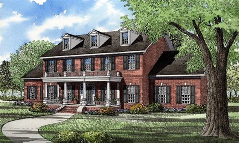 brick colonial house plans house plans colonial style homes georgian plantation style