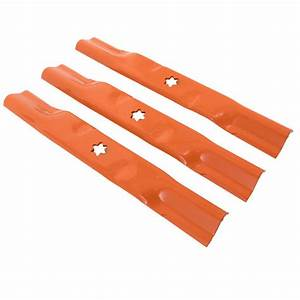 Sand Blade Set For 50-inch Cutting Decks