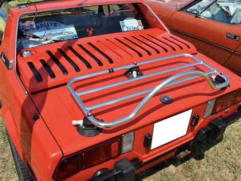fiat  boot trunk luggage rack convertible luggage