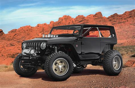 new jeep truck concept jeep unveils several concept vehicles for 2017 moab easter