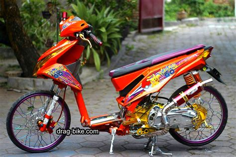 Modifikasi Motor Matic Beat 50 foto gambar modifikasi beat kontes racing jari