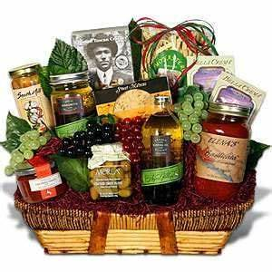 25 best ideas about Food Gift Baskets on Pinterest