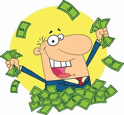 Money Cartoon Rich Clip Royalty Transparent Clipart