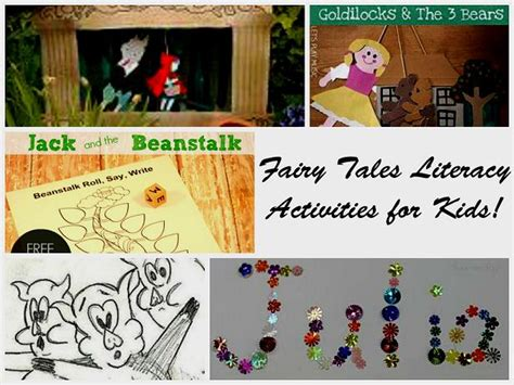 tales theme for preschool the preschool toolbox 775 | FT Literacy Collage