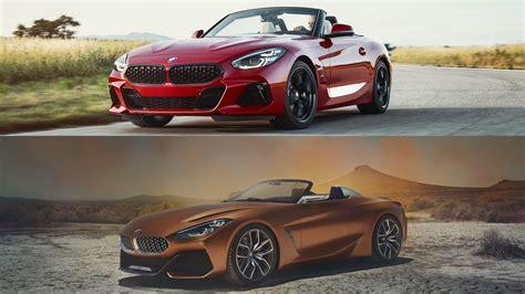 Bmw Z4 2019 by 2019 Bmw Z4 Vs 2017 Bmw Z4 Concept Top Speed