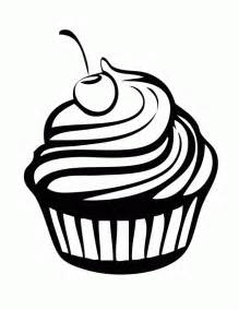 HD wallpapers cupcake coloring page
