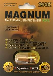Magnum 250k Xxl Sexual Supplement Enhancement Pill