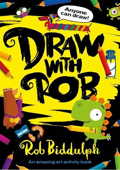 Rob Draw Biddulph Books Paperback Dog Children