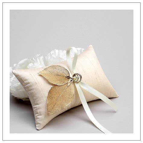 wedding ring bearer pillow rustic wedding bridal ring