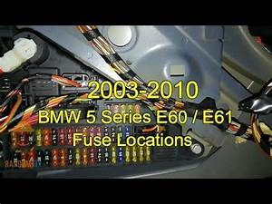 2008 Bmw E60 Fuse Box Diagram : bmw 528i 530i 525i 535i e60 e61 fuse box location 2003 ~ A.2002-acura-tl-radio.info Haus und Dekorationen