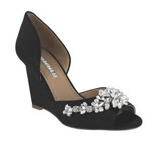 david tutera wedding shoes david tutera winter black satin womens wedding shoes size 10 m ebay