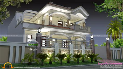 35x70 India house plan - Kerala home design and floor plans