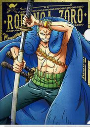 piece roronoa zoro clear file ichiban kuji