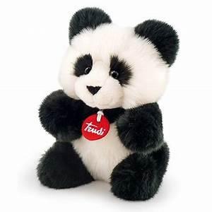 Grosse Peluche Panda : peluche panda 24 cm trudi mynoors ~ Teatrodelosmanantiales.com Idées de Décoration