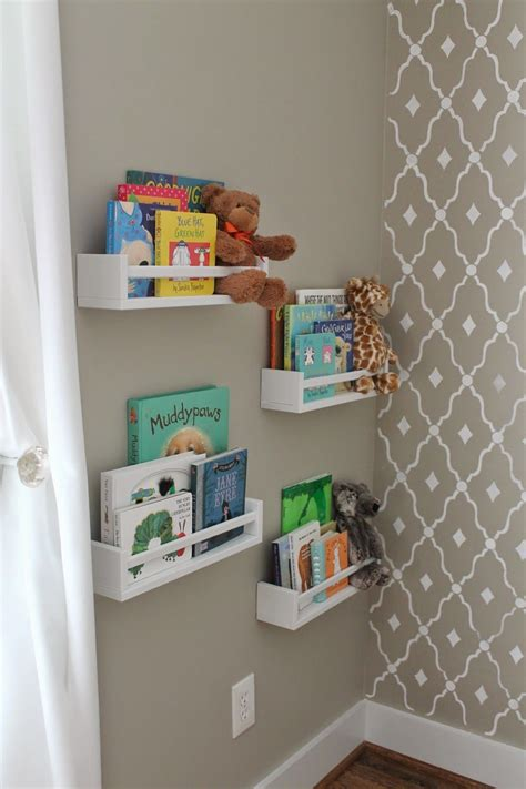 Ikea Spice Rack Book Storage by Ikea Spice Racks Used As Bookshelves Nursery Inspiration