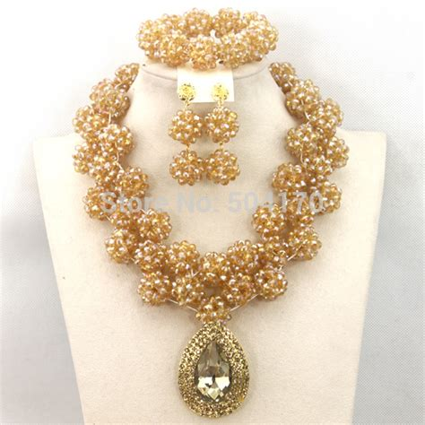 Aliexpressm  Buy Champagne Gold Nigerian Wedding Beads. Mens Rings. Popular Jewelry Stores. Diamond Necklace. Chain Jewelry. Orange Necklace. Bluestone Pendant. Silver Anklets For Ladies. Silver Earrings