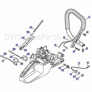 Stihl Ms 361 Chainsaw  Ms361 Wvh  Parts Diagram  Heating