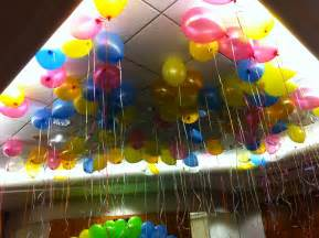 Balloon Decorations with Helium