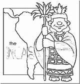 Diversity Coloring Cultural Picchu Machu Inca Incas Empire Printable Template Getdrawings Ollantay Getcolorings Para sketch template