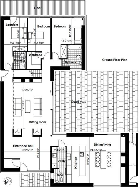 Modern Style House Plan 4 Beds 3 5 Baths 2845 Sq/Ft Plan