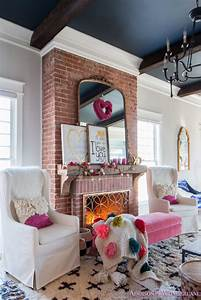 Our, Colorful, Whimsical, U0026, Elegant, Valentine, U0026, 39, S, Day, Living, Room, Decor