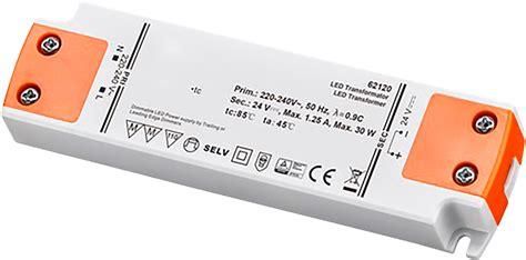 led trafo dimmbar led trafo 30w elektonisch 24v dc dimmbar ett der elektronik und technik gro 223 handel
