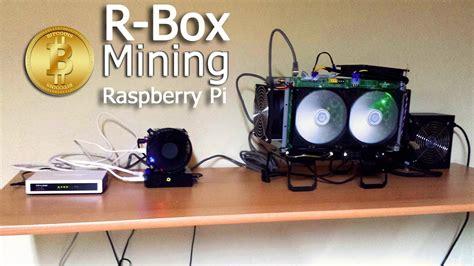 Run the main program bcbar.py. Schimmer Media] How to Raspberry Pi & R-Box Bitcoin mining Deutsch