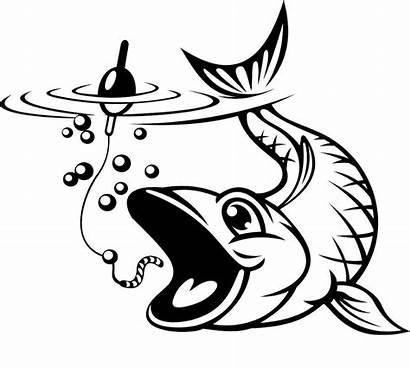 Fish Fishing Hook Clipart Fisch Catching Haken