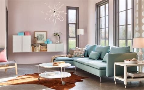 salon moderno ikea  muebles modulares imagenes  fotos