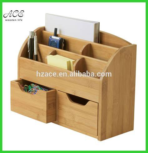 table top desk organizer custom bamboo desk organizer bamboo office table organizer