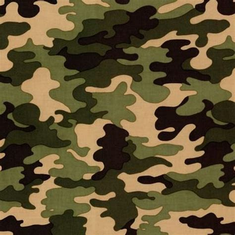 Camouflage Upholstery Fabric by Patriots In Jungle Camo Print Fabric By Robert By