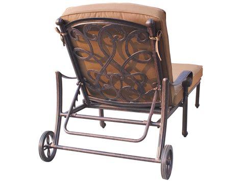 chaise metal vintage darlee outdoor living ship santa cast
