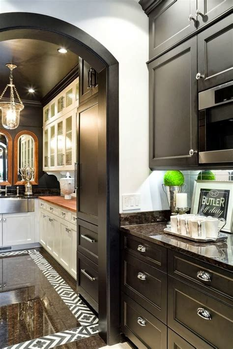 butlers pantry traditional kitchen kirkland custom