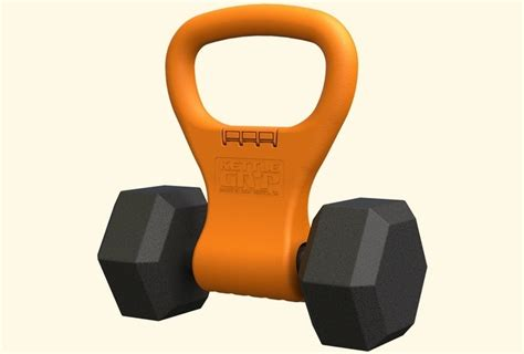 kettle kettlebell dumbbell gryp handle bell attachment into turns dumbell kettlebells without change any workouts