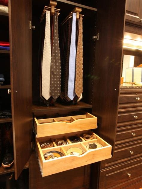 Tie Rack For Closet by S Closet Design Dressing In Style Style