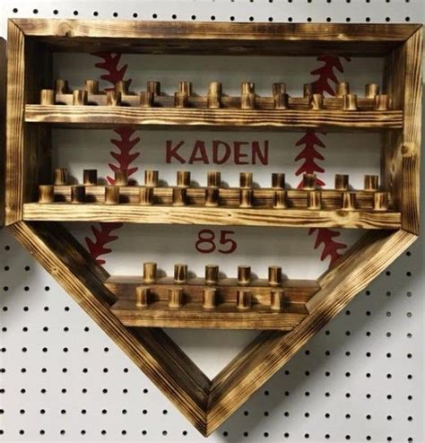 baseball homeplate  ring display case holder etsy