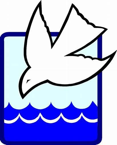 Baptism Clipart Baptismal Font Christian Dove Transparent