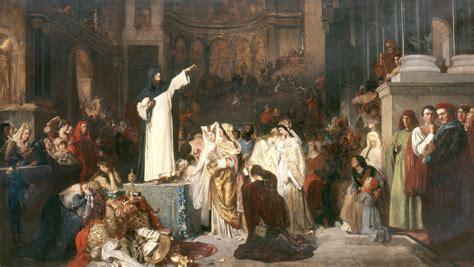 art  religion savonarola  botticelli bestartsorg