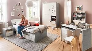 Jugendzimmer Weiß Hochglanz : jugendzimmer set mipiace hochglanz wei beton dekor 6 teilig ~ Orissabook.com Haus und Dekorationen