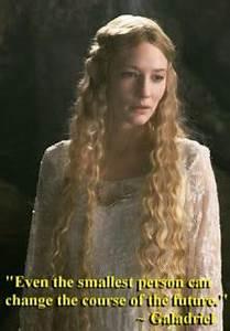 Galadrial, Lord... Frodo Elvish Quotes