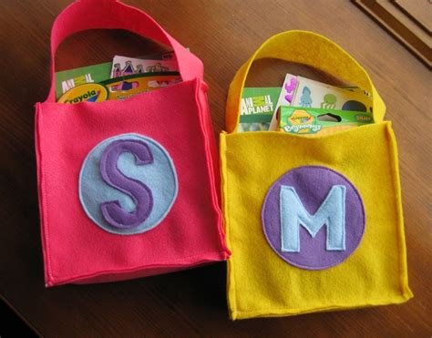 sohl design monogrammed felt bag tutorial