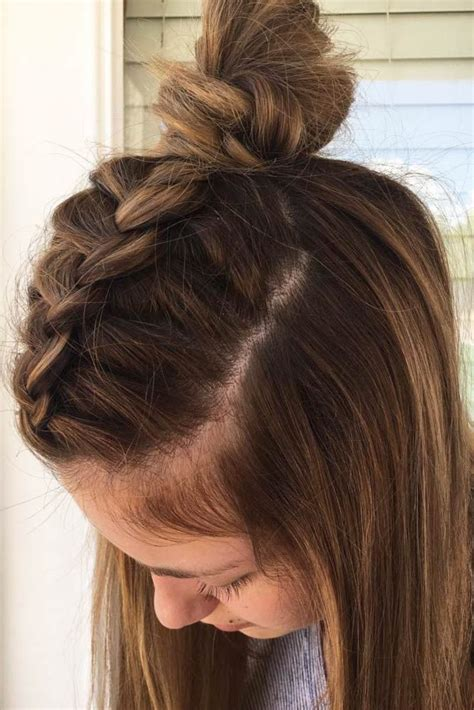 try 21 cute hairstyles for medium length hair hair hairstyles braids for medium length