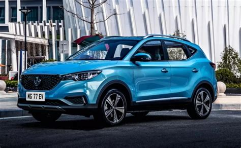 mg zs ev launched  india price range   details