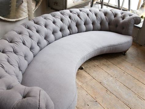Curved Loveseat Sofa by 17 Best Ideas About Curved Sofa On Curved